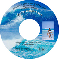 Hypnosis CD and MP3 download for easier weight loss