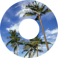Help for insomnia hypnosis CD and MP3 download