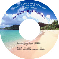 Hypnosis CD for relaxation and confidence