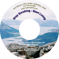 Hypnosis CD and MP3 download for stop smoking start living